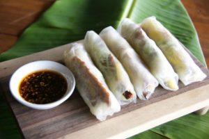 vegetarian and vegan food in nusa lembongan