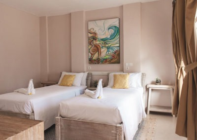 Room Isla Indah Twin Bed
