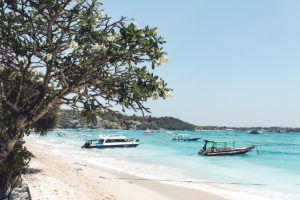 Atmosphere Nusa Lembongan Beach Pantai