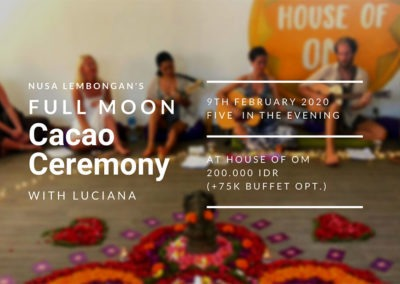Cacao Ceremony Header February