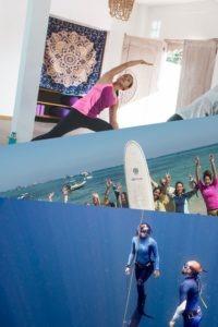 Yoga and Meditation, surfing, freediving