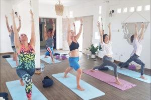 Yoga Pose Nusa Lembongan